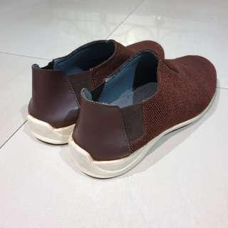 [ORI] Sepatu Pria Yongki Komaladi Coklat Merah - Bekas / Second - Men Shoes