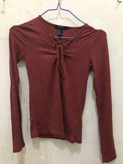 Lace top F21