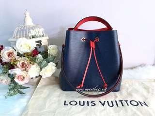 Louis Vuitton NeoNoe Epi Leather-Indigo