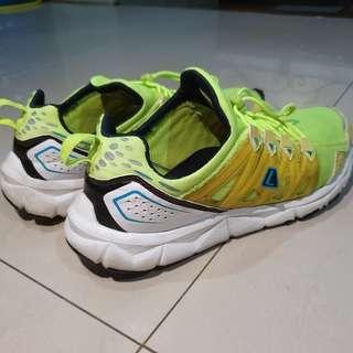 [ORI] Sepatu Olahraga Lari League Kumo 1.5 Kuning - Running Sport Shoes - Bekas / Second