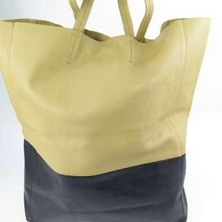 Celine Cava Bicolor Tote Bag