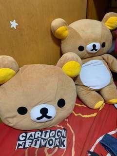 拉拉熊玩偶 拉拉熊抱枕 拉拉熊 抱枕 玩偶