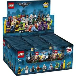 Lego Minifigures Batman Movie 71020 (Box of 60)