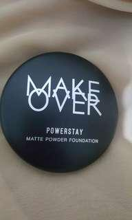 NEW! Free ongkir! MAKE OVER MATTE POWDER FOUNDATION (Pink Ivory)