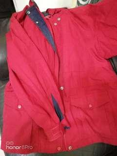 🚚 Red warm jacket