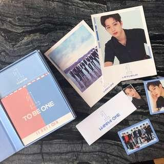WANNA ONE LAI GUAN LIN TO BE ONE SKY VER FULL SET