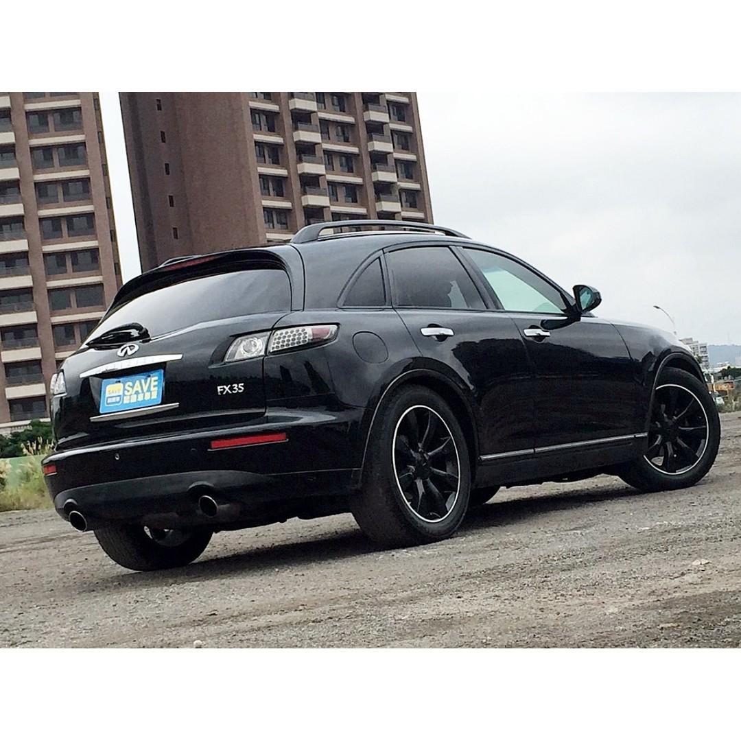 2005年 無限 FX35 一手電子新貴用車 超少開 一年只跑九千多 車主超顧車 現買現賺唷!內外新車況極佳