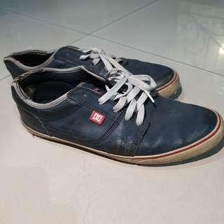[ORI] Sepatu Pria Sneakers DC USA Biru Navy - Second / Bekas - Men Shoes