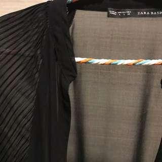 Black transparant top from Zara