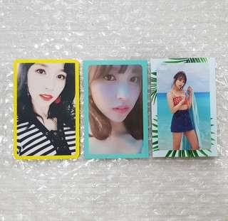 TWICE Mina Photocards