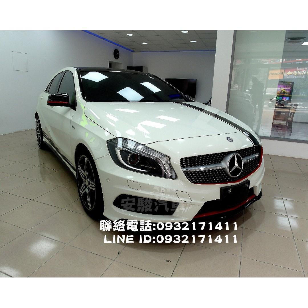 2013年賓士 A250 2.0白(AMG sport)