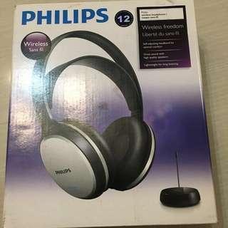 Philips Wireless Headphone , 無線頭戴耳機