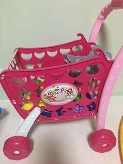 Shopping cart groceries