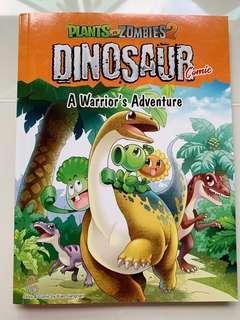 🚚 Plants vs Zombies 2 Dinosaur Comic - A Warrior's Adventure
