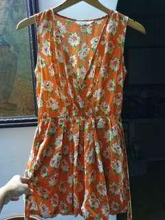 [FREE DELIVERY]: Kitschen floral dress