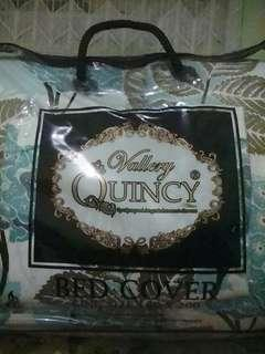 Dijual selimut bed cover vallery quincy king size