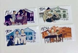 Mint new Postage stamps