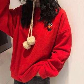 Sesame street elmo pullover