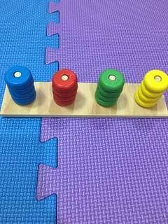 Color matching Montessori style