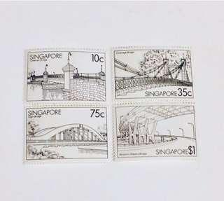 Mint vintage new stamps