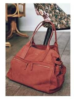 Sezane leather bag - brand new