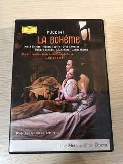 LA BOHEME by Puccini (Original DVD)