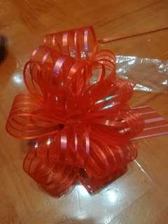 結婚拉繩花球 結婚用品 $10/2包 (紅)