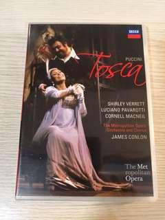 TOSCA by Puccini (starring Pavarotti & Verrett)