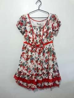 Red Doll Dress