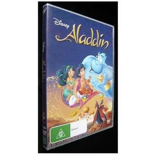Aladdin Movie DVD (Disney) (Region 4)