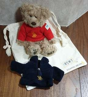 LIMITED EDITION! Singapore Airlines Kristoff Bear