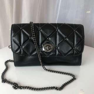 COACH F23816 BLACK CROSSBODY