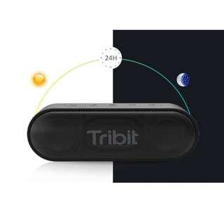 Tribit XSound Go- 12W Portable Bluetooth Speaker Loud Stereo Sound, Rich Bass, IPX7 Waterproof