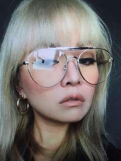 銀色飛行眼鏡