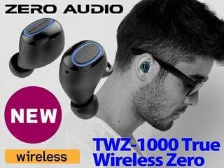 日本熱賣! Zero audio 石墨烯真無線藍牙耳機 bluetooth 5.0 最新高通晶片支援aptX TrueWireless Stereo Plus 低延遲 7小時單次充電續航力 IPX5 防水