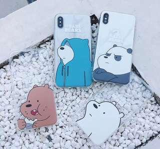 Bare bear Iphone Casing