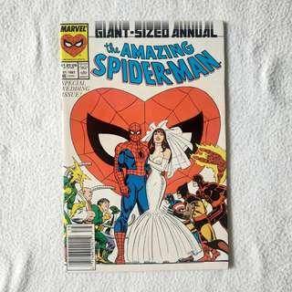 The Amazing Spider-Man Annual #21 (Marvel) 1987 - Special Wedding Issue