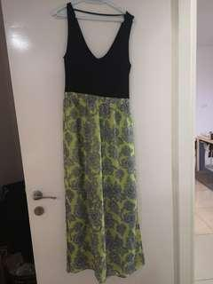 Oasis Maxi Dress with side slits