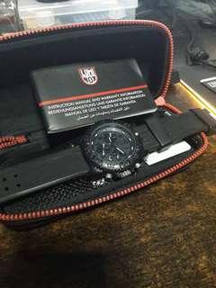 🚚 Luminox Navy Seal Blackout 3080 Series