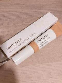 bnib innisfree smart drawing foundation | 06 sand