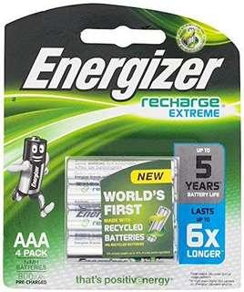Energizer Rechargeable Battery AAA 800mAh