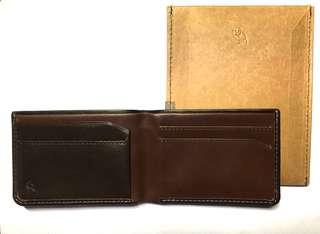 全新 Bellroy the low wallet 銀包