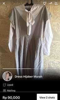 Dress hijaber Sale cuman 40.000