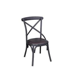Solid Wood Cross Back Dining Chair