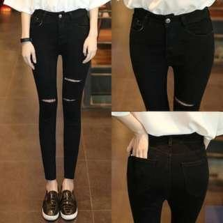 BN Black Ripped Jeans