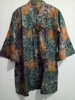 SALE!  Batik blouse