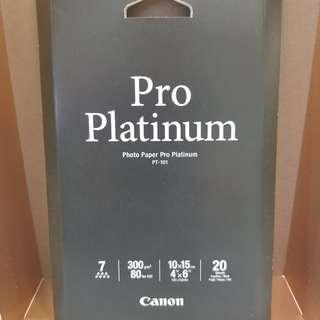"Canon photo paper (4"" x 6"") 佳能旗艦級相片紙"