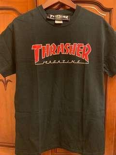🚚 THRASHER 深藍男版M號短袖T恤