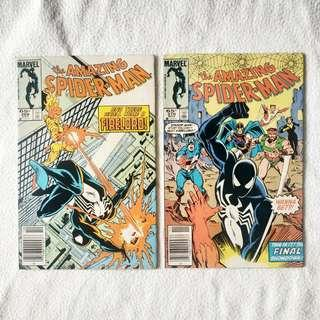 The Amazing Spider-Man #269 & #270 (Marvel) 1985 - Spidey vs. Firelord