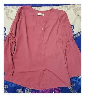 Mayoutfit purple blouse